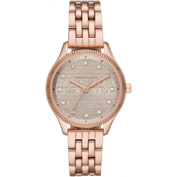 MICHAEL KORS Montre MICHAEL KORS LEXINGTON en Acier Rosegold MK6799