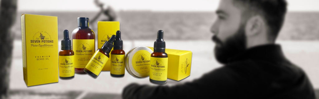 Seven Potions Beard Care Products - The Premium Mens Care
