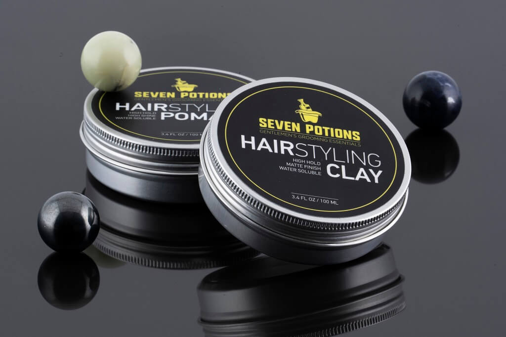 Become stocking hair styling pomade and clay - men's grooming