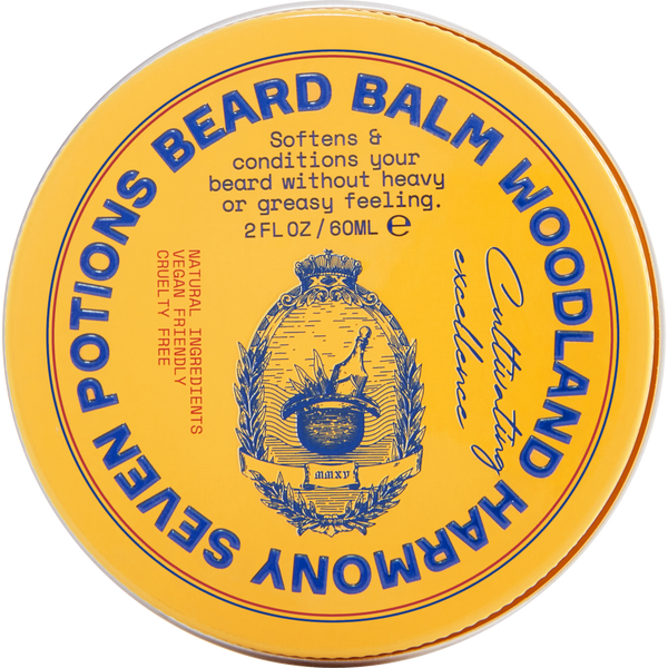 Seven Potions Beard Balm conditioning Woodland Harmpny