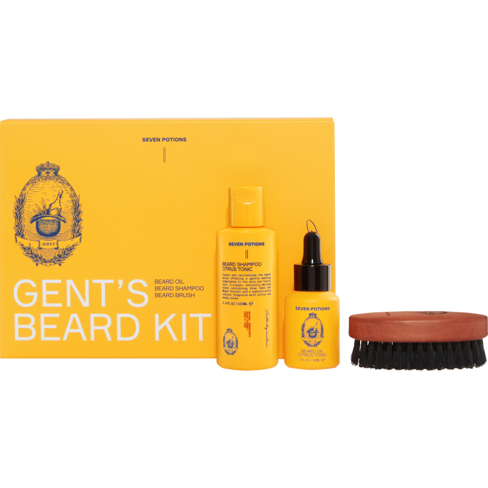 Beard Grooming Set Seven Potions