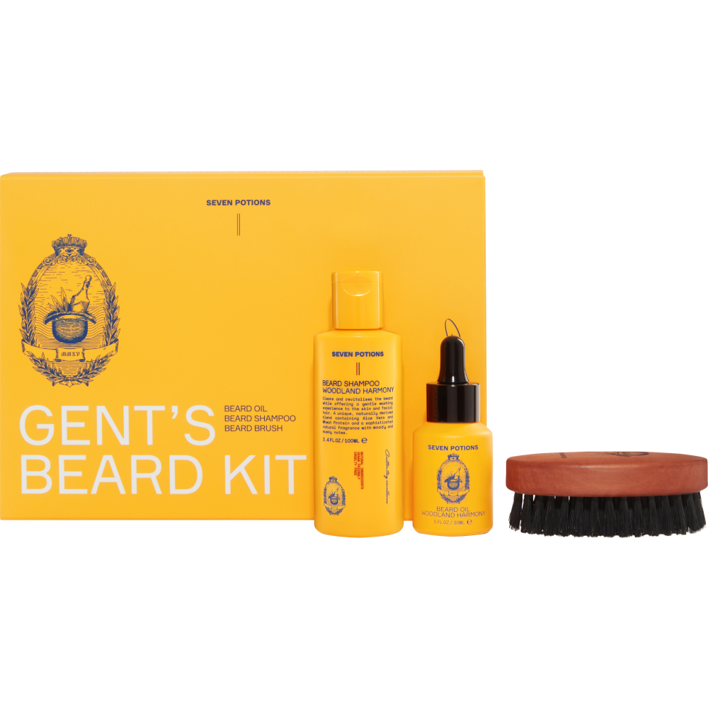 Beard Grooming Set Seven Potions Woodland Harmony