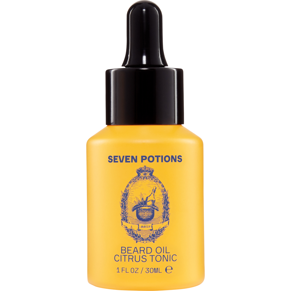 Seven Potions Beard Oil Citrus Tonic