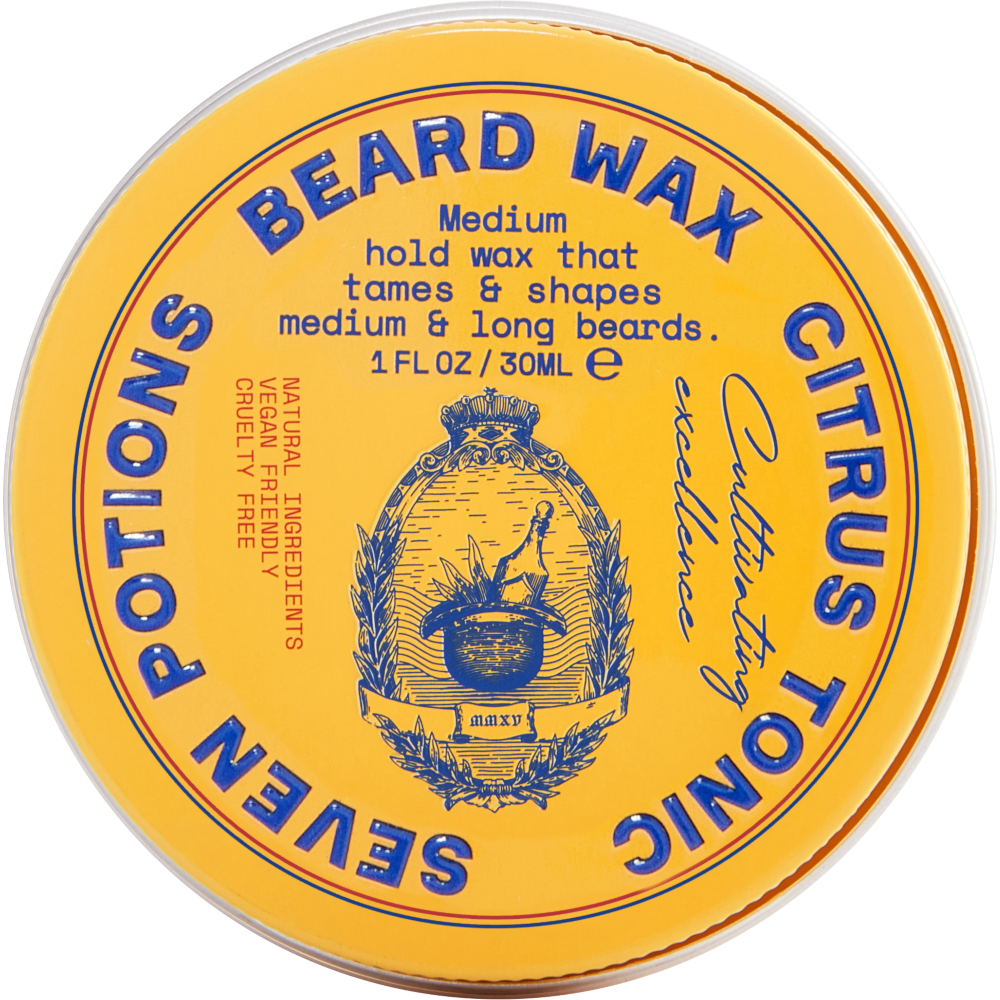 Beard Wax Seven Potions Citrus Tonic
