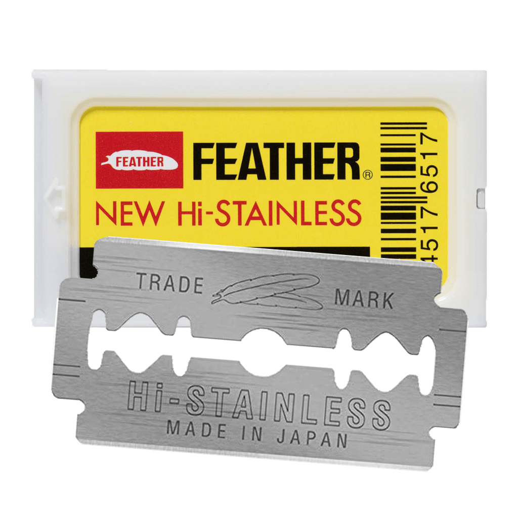 Feather Stainless Steel Safety Razor Blades