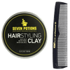 Hair Styling Clay + Free Professional Pocket Comb (Limited Deal)