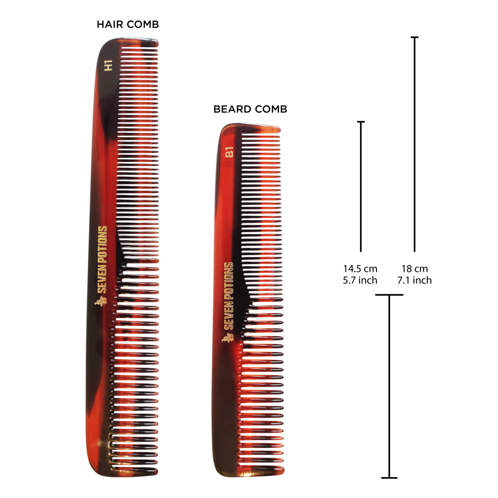 hair comb and beard comb differences