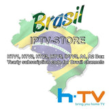 htv HTV5 h.tv  1 2 3 5 A1 A2  Portuguese channels 1 years RENEW