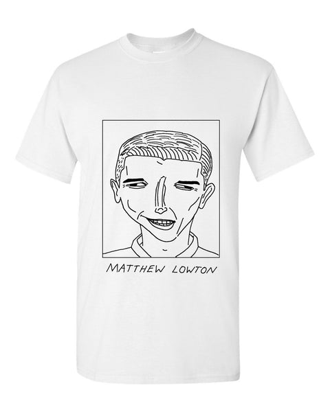 Badly Drawn Matthew Lowton T-shirt - Burnley FC