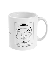 Load image into Gallery viewer, Badly Drawn Footballers Mug - Christian Benteke