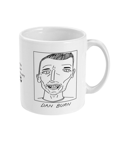 Badly Drawn Footballers Mug - Dan Burn