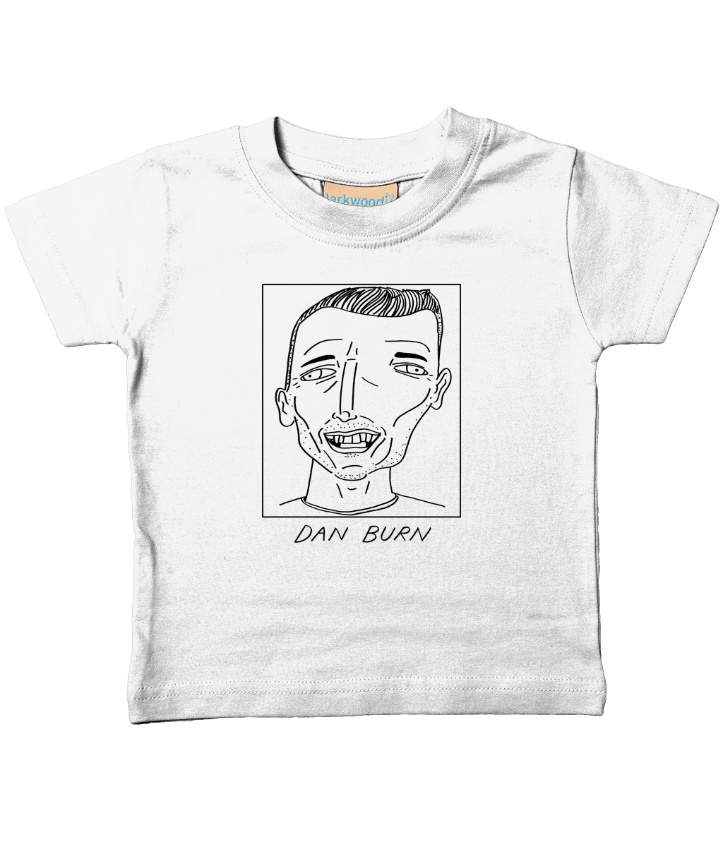 Badly Drawn Footballers - Baby / Toddler Organic T-Shirt - Dan Burn