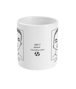 Badly Drawn Footballers Mug - Gabriel