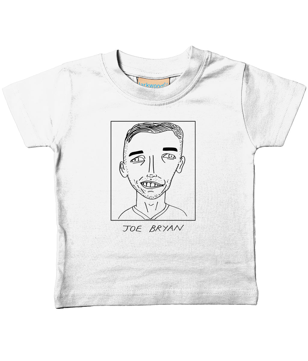 Badly Drawn Footballers - Baby / Toddler Organic T-Shirt - Joe Bryan