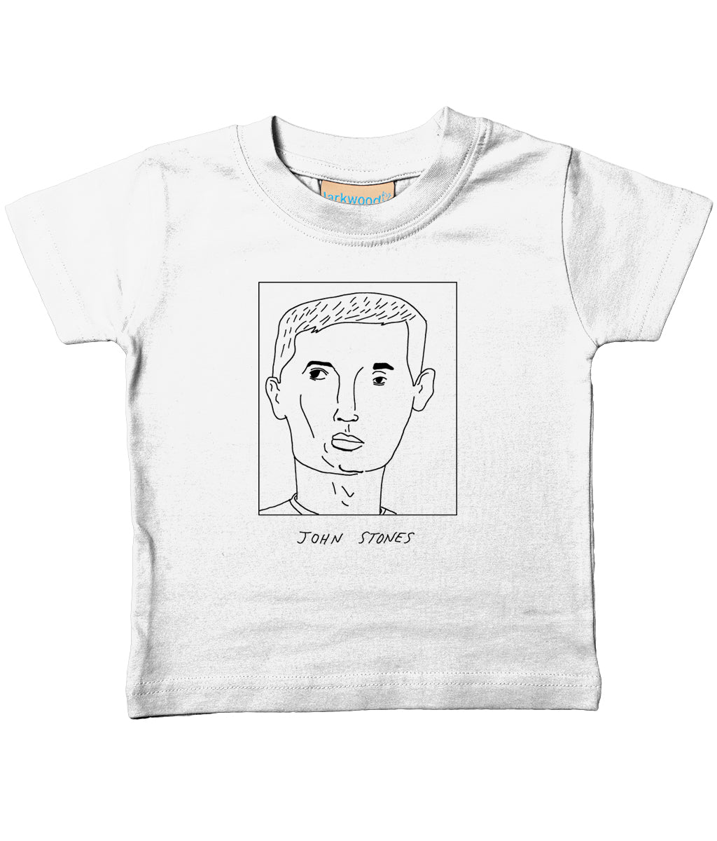 Badly Drawn Footballers - Baby / Toddler Organic T-Shirt - John Stones
