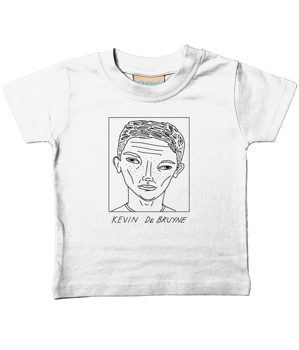 Badly Drawn Footballers - Baby / Toddler Organic T-Shirt - Kevin De Bruyne