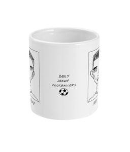 Badly Drawn Footballers Mug - Nick Pope