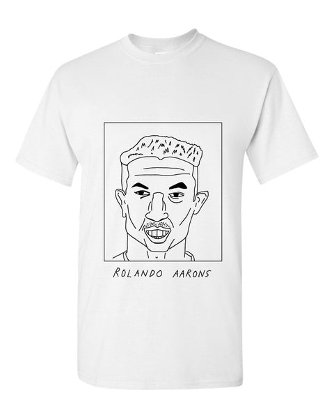 Badly Drawn Rolando Aarons T-shirt - Newcastle United FC