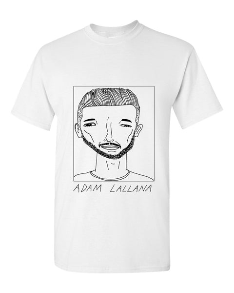 Badly Drawn Adam Lallana T-shirt - Liverpool FC