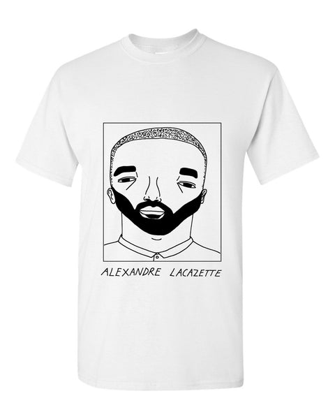 Badly Drawn Alexandre Lacazette T-shirt - Arsenal FC