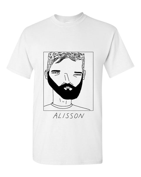 Badly Drawn Alisson T-shirt - Liverpool FC