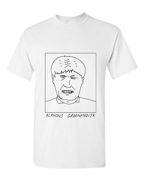 Badly Drawn Alphons Groenendijk T-shirt - 1994 Manchester City