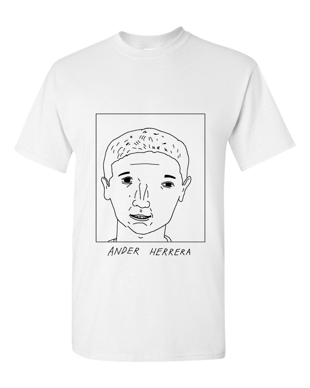 Badly Drawn Ander Herrera T-shirt