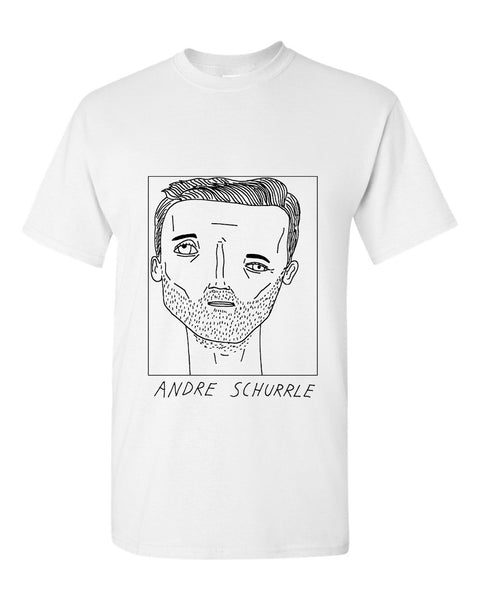 Badly Drawn Andre Schurrle T-shirt - Fulham FC