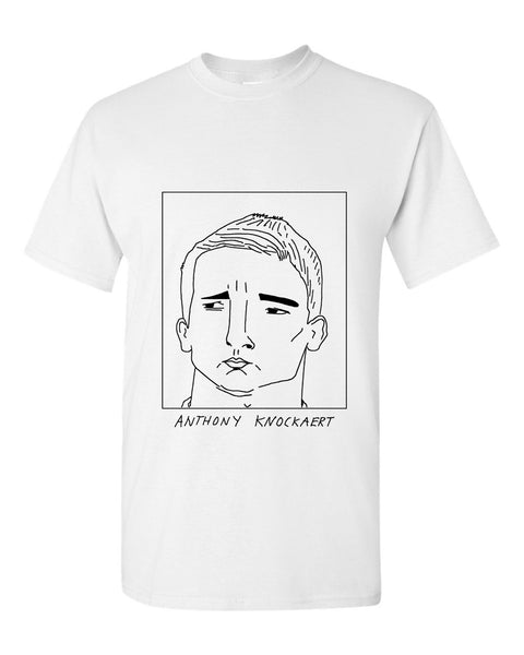 Badly Drawn Anthony Knockaert T-shirt - Brighton & Hove Albion F.C.