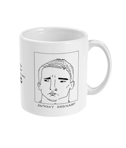 Badly Drawn Footballers Mug - Anthony Knockaert