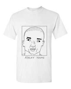 Badly Drawn Ashley Young T-shirt