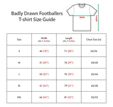 Load image into Gallery viewer, Badly Drawn Footballers T-shirt - Kostas Tsimikas