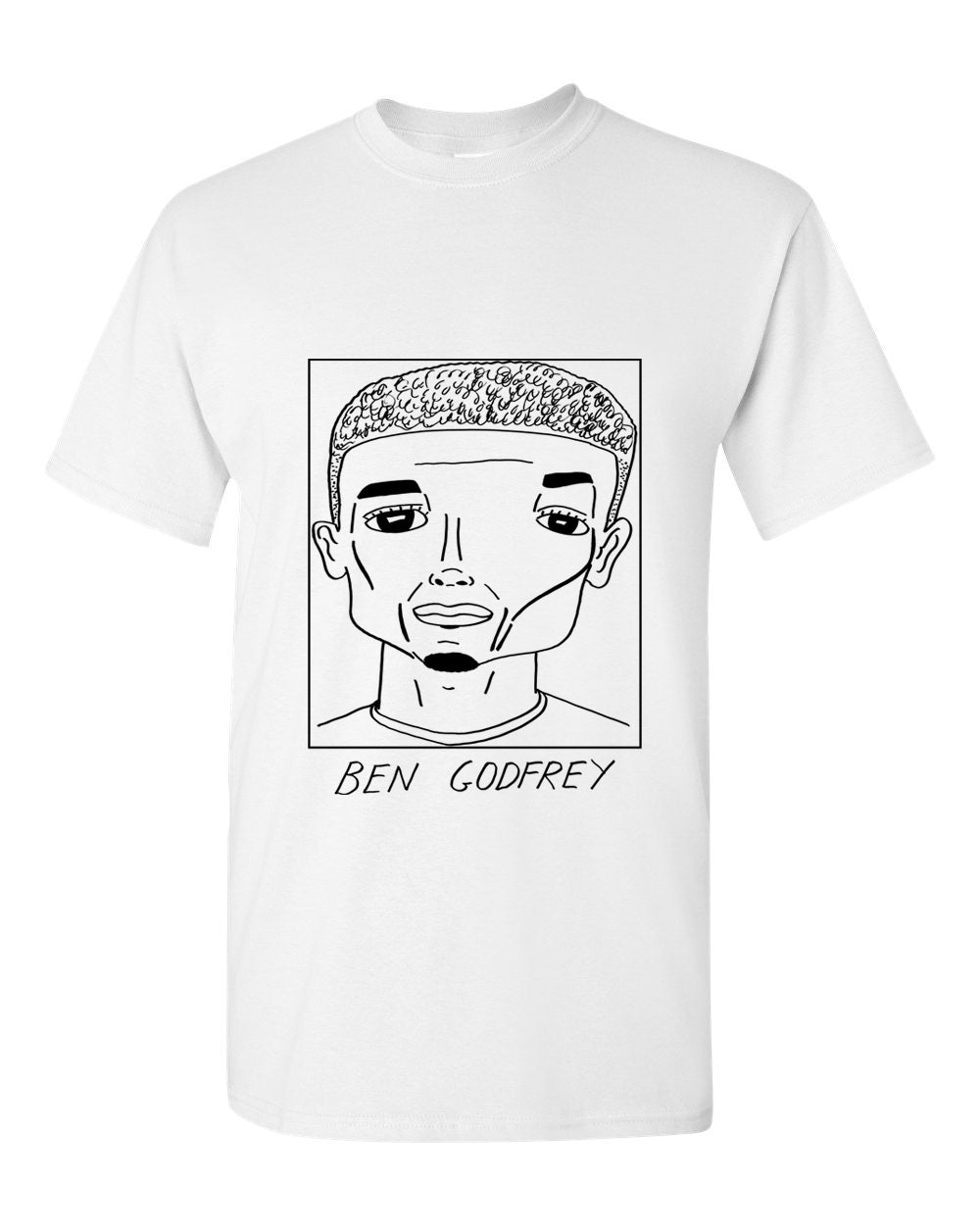 Badly Drawn Footballers T-shirt - Ben Godfrey