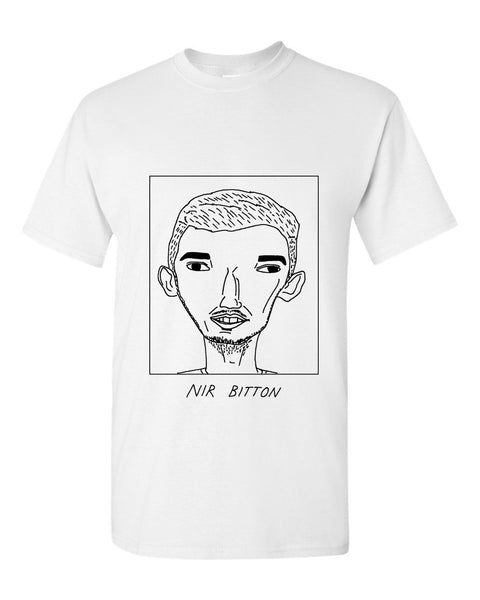 Badly Drawn Nir Bitton T-shirt - Celtic FC