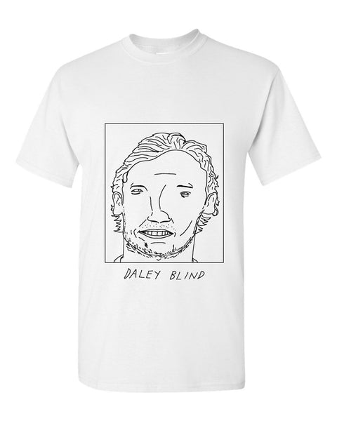 Badly Drawn Daley Blind T-shirt - Manchester United FC