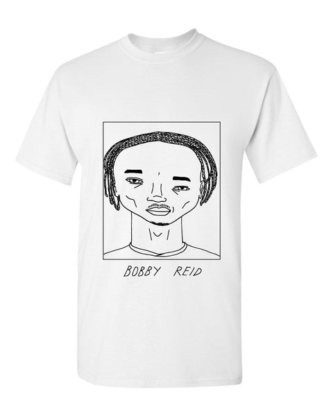 Badly Drawn Bobby Reid T-shirt - Cardiff City FC