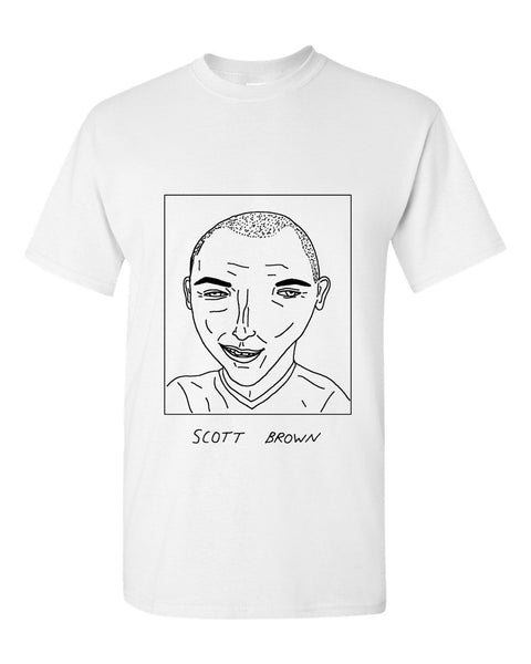 Badly Drawn Scott Brown T-shirt - Celtic FC