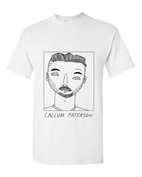 Badly Drawn Callum Paterson T-shirt - Cardiff City FC