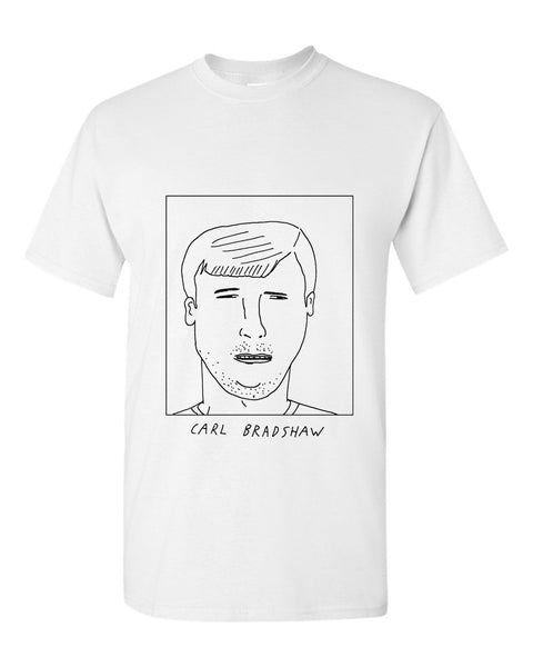 Badly Drawn Carl Bradshaw T-shirt - 1994 Shef United