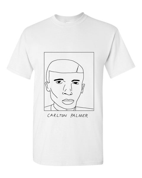 Badly Drawn Carlton Palmer T-shirt - 1994 Shef Wed