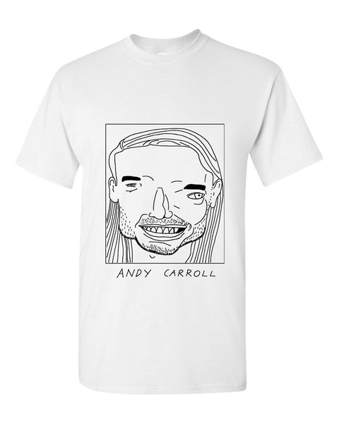Badly Drawn Andy Carroll T-shirt - West Ham United FC