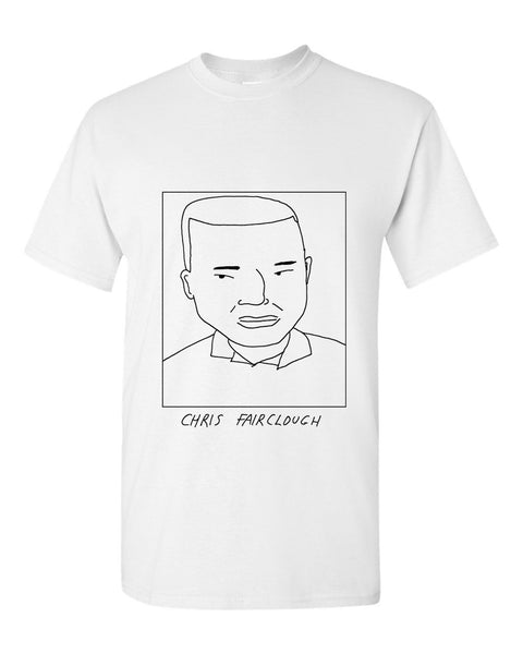 Badly Drawn Chris Fairclough T-shirt - 1994 Leeds United