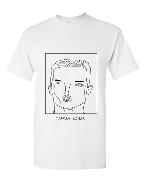 Badly Drawn Ciaran Clark T-shirt - Newcastle United FC