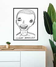 Load image into Gallery viewer, Badly Drawn Footballers - Claude Makelele - Poster - 3 FOR 2