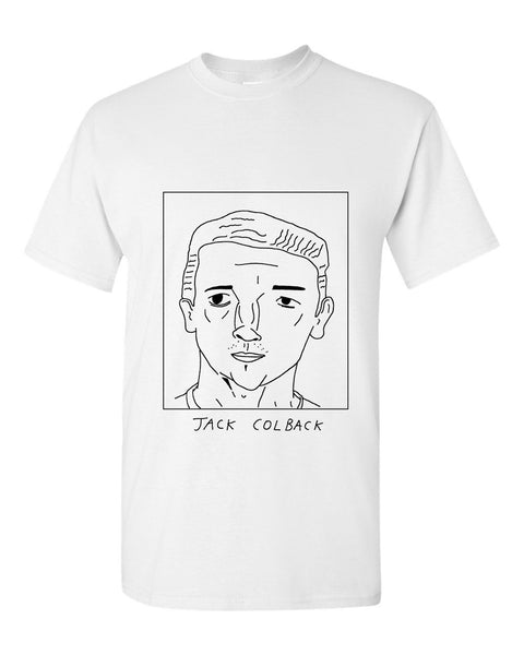 Badly Drawn Jack Colback T-shirt - Newcastle United FC