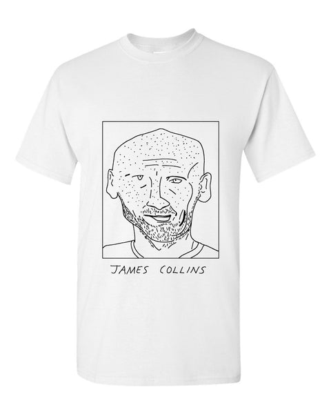 Badly Drawn James Collins T-shirt - West Ham United FC
