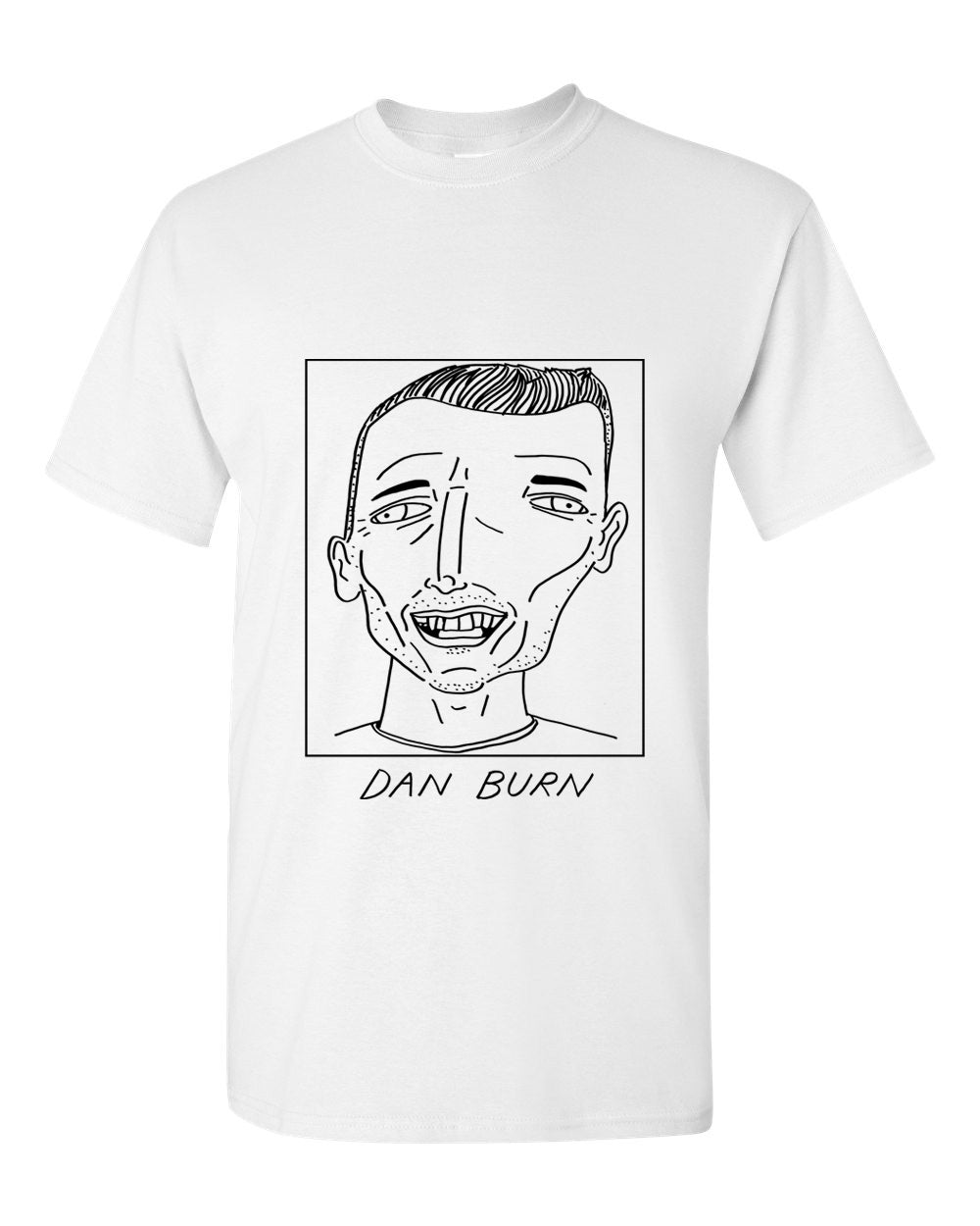 Badly Drawn Footballers T-shirt - Dan Burn
