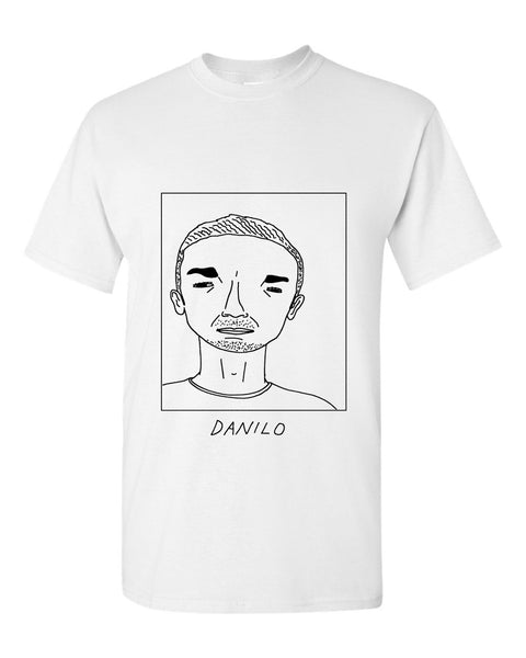 Badly Drawn Danilo T-shirt - Manchester City FC