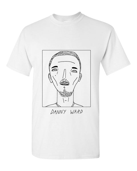 Badly Drawn Danny Ward T-shirt - Cardiff City FC