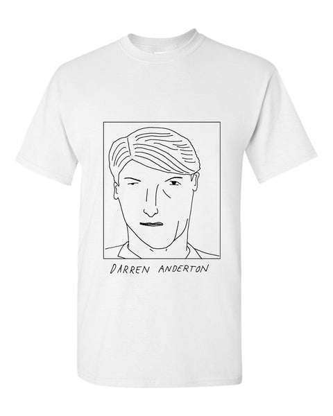 Badly Drawn Darren Anderton T-shirt - 1994 Tottenham Hotspur